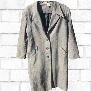 {Newport News} Wool Blend Vintage Coat size 14